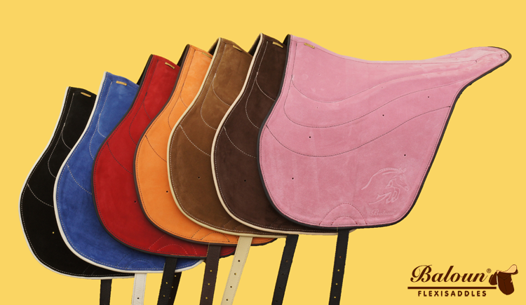 Baloun® riding pads in color variants