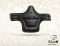 Jumping girth Baloun® with a shield. Made of black leather