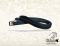 Jumping stirrup leathers Baloun® made of black leather