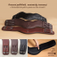 Anatomic girths Baloun® in different leather color. Black, mocca, chestnut